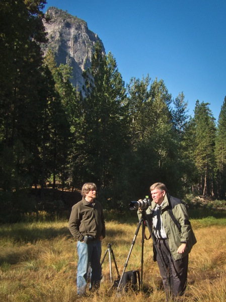 Michael Frye and Scott Loftesness - Yosemite Valley